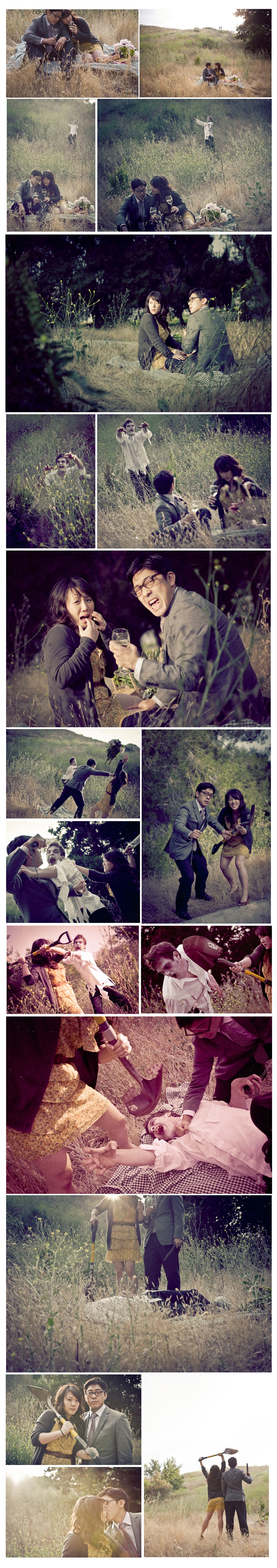 Creative Zombie Engagement photos