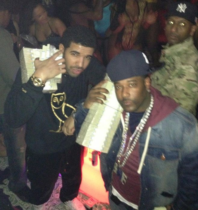 Drake at a Strip Club