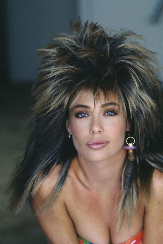 Kelly LeBrock Then and Now