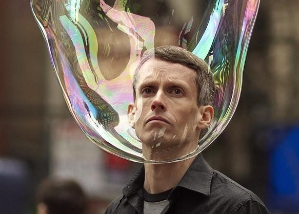 Bubble Man is Real