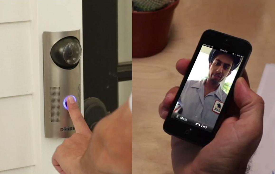 DoorBot, a Doorbell with Camera that Streams Video to Your Phone