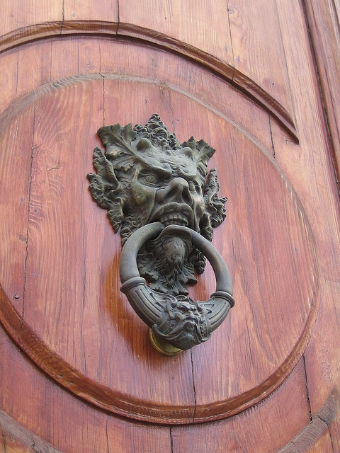 Interesting Door Knockers.