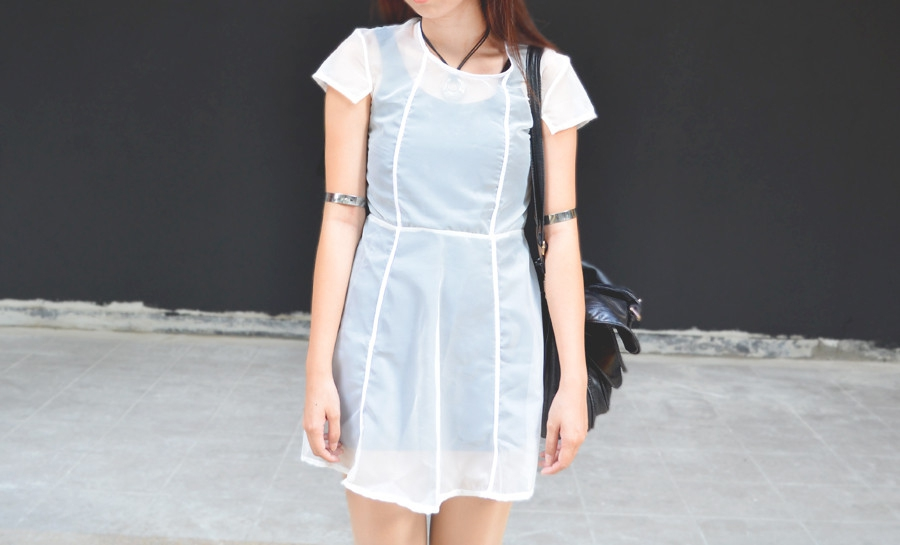 Weekend Style Pick! KARENCYAN: Handmade Sheer Dress