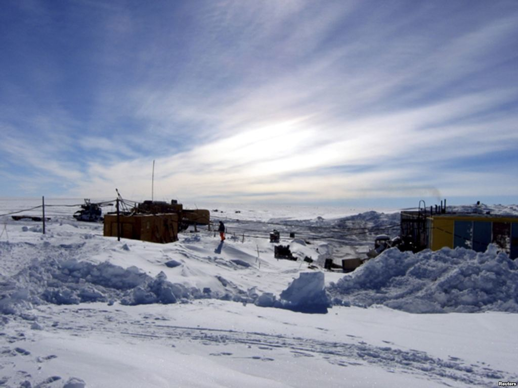 Russians Found New Life Under Antarctic Ice.