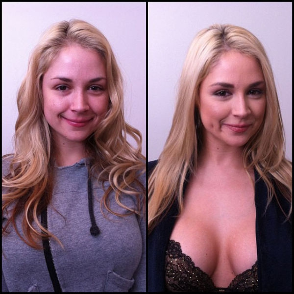 Porn Stars With/Without Make-Up - Reality Check