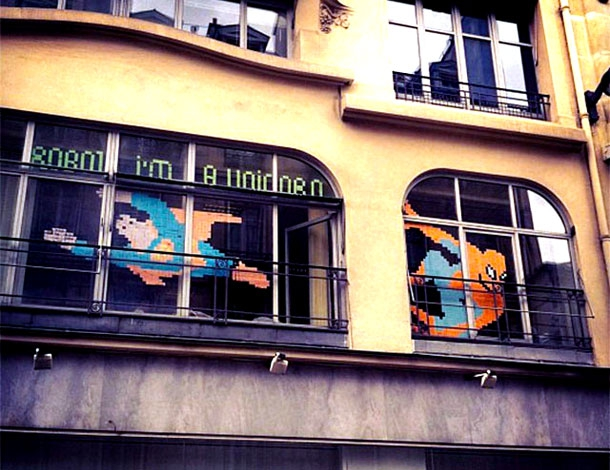 Impressive Examples Of Post-It Note Office Art