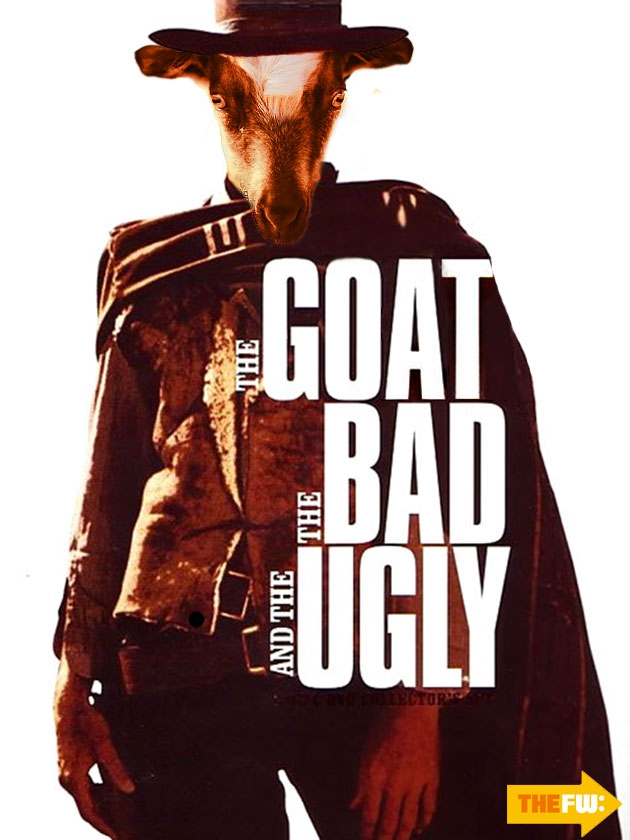 The 'Screaming Goat' Hits Hollywood In Remixed Movie Posters