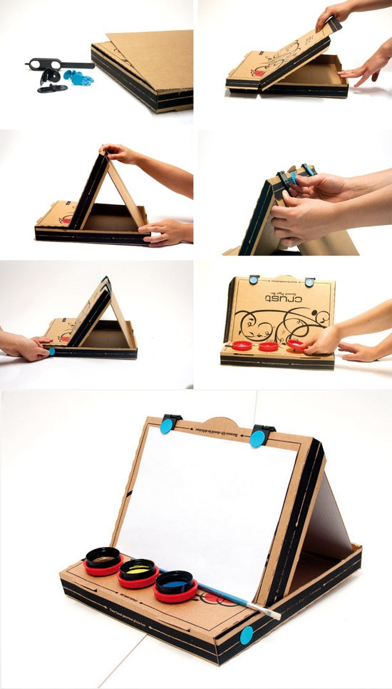 Cool Things You Can Make With A Pizza Box