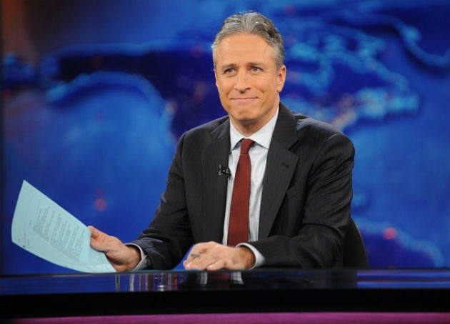 Jon Stewart Is the Silver Fox With a Silver Tongue