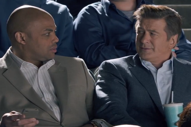 Hilarious Outtakes of Charles Barkley & Alec Baldwin For Capital One