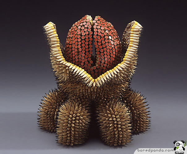Stunning Pencil Sculptures by Jennifer Maestre