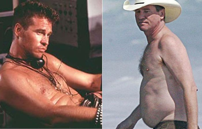Shirtless Hunks From the '90s Then & Now