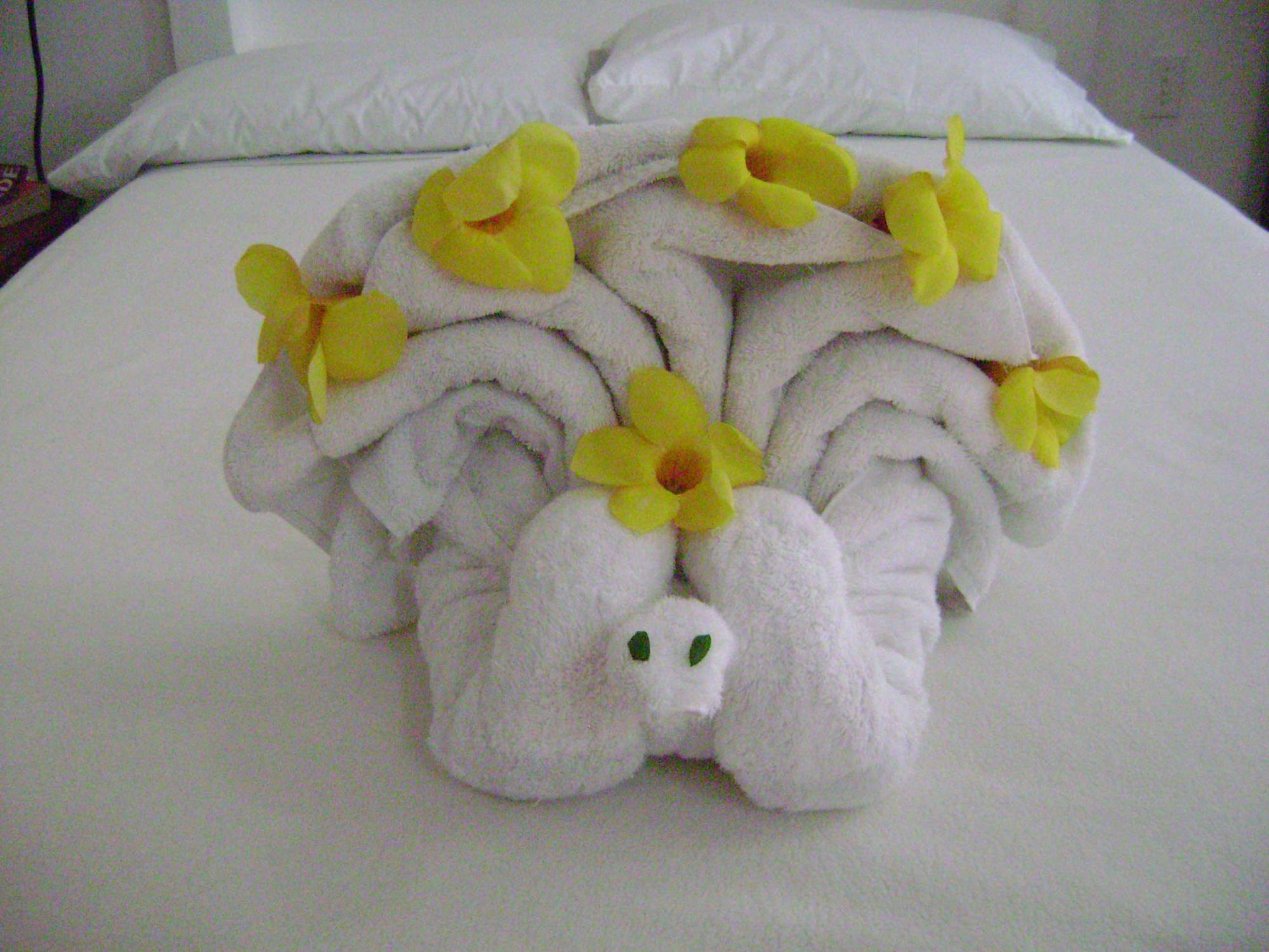 Odd towel origami mightylinksfo