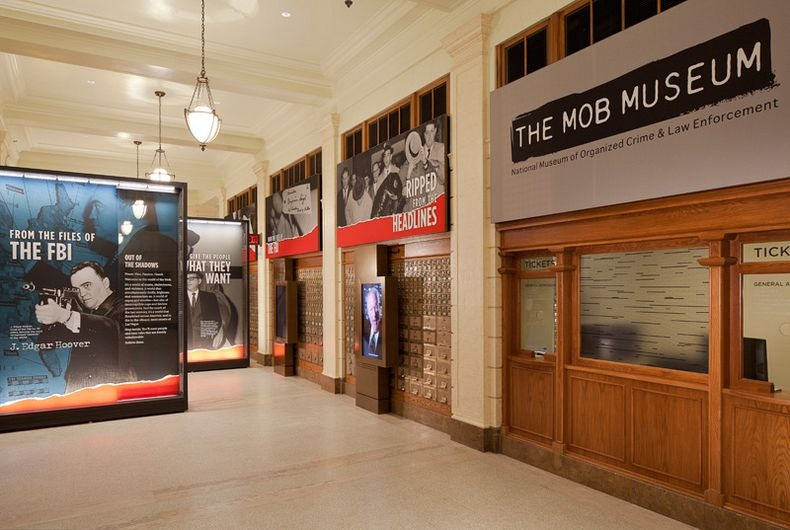 The Mob Museum: The Museum of Mobsters, Las Vegas