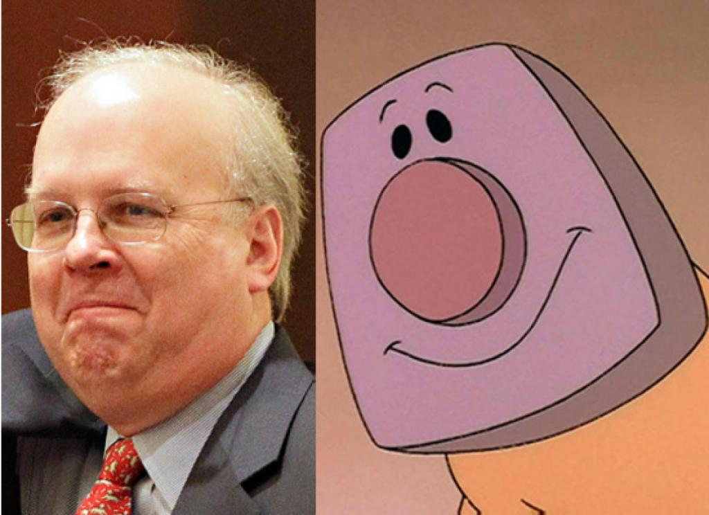Karl Rove & Blanky (The Brave Little Toaster)