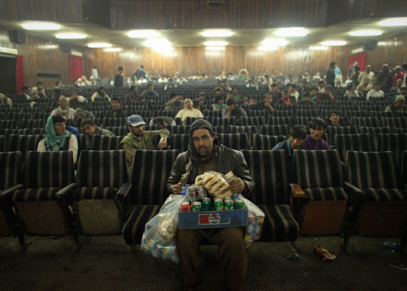 Inside Kabul's Screens by Danish Siddiqui