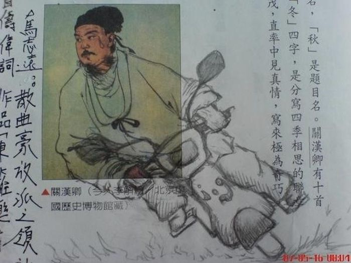 Funny Asian Textbook Doodles