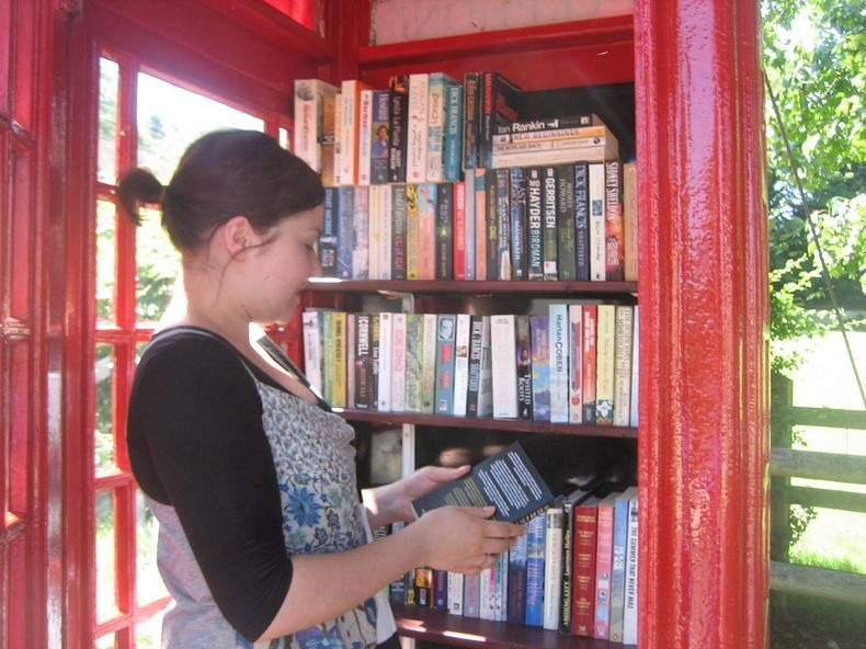 Britain's Telephone Box Libraries