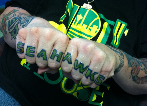Seattle Superfan Tattoos Are A Little Crazy
