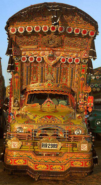 India Decked Out Truck