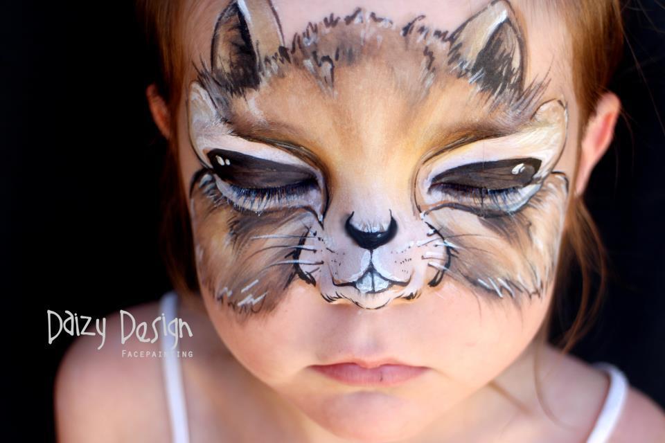 Amazing Face-Painting Art