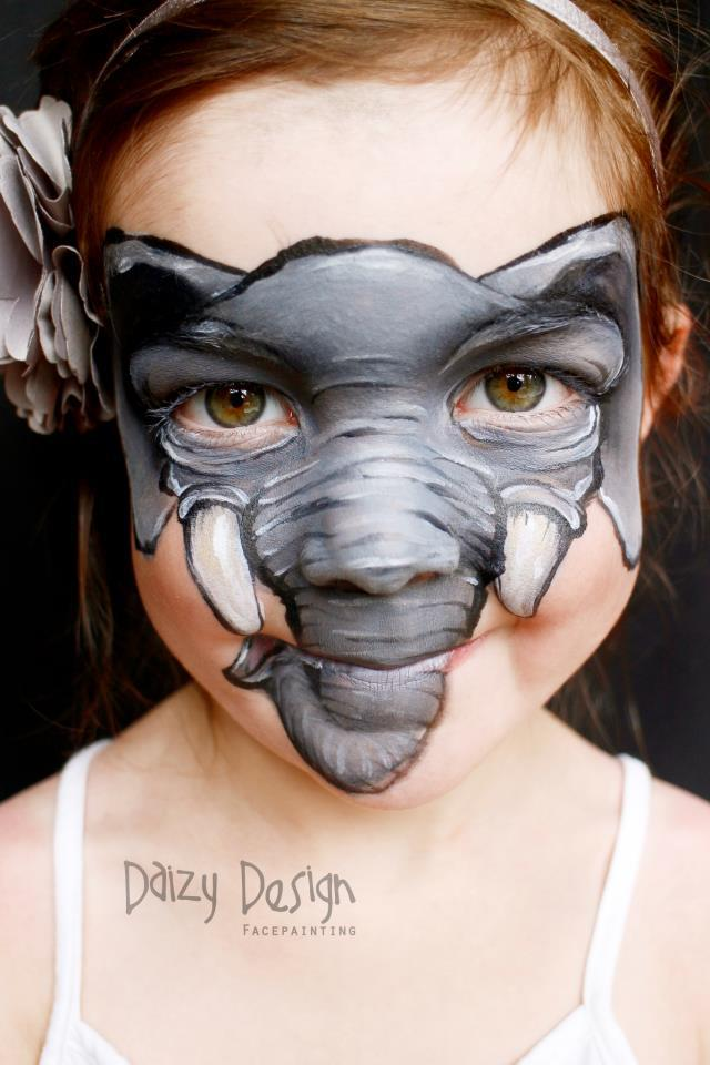Elephant Face-Paint