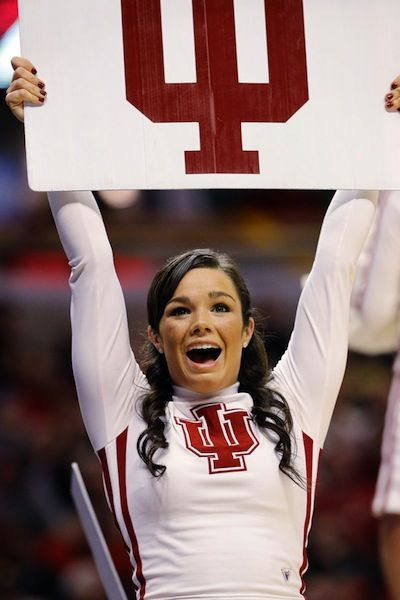 Indiana Hoosiers Cheerleaders