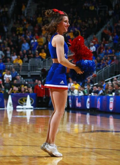 Kansas Jayhawks Cheerleaders