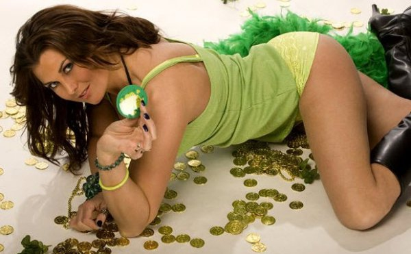 Hot St. Patrick's Day Girl