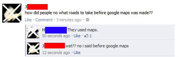 Before Google Maps