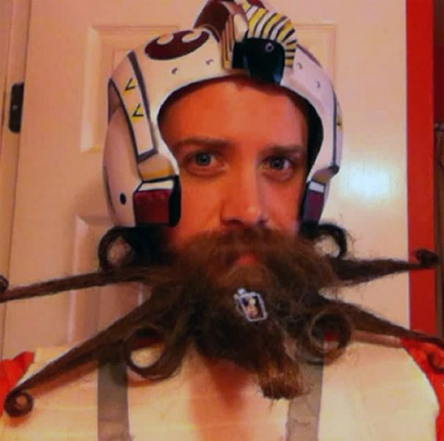 Star Fighter Beard