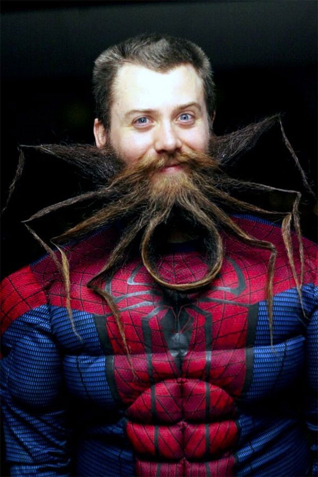 Chad Roberts Spider Man Beard