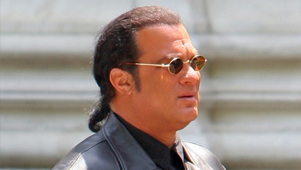 Steven Seagal - No Just Kidding, He switched over to TV Dramas, He has lost it