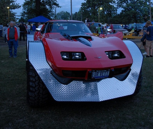 Corvette 4-wheeler Front
