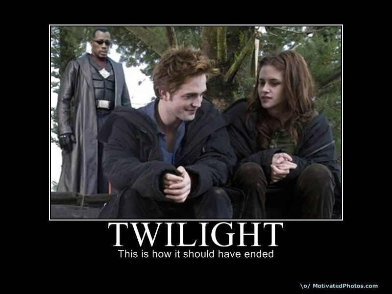 Having a conversation with a Twilight fan