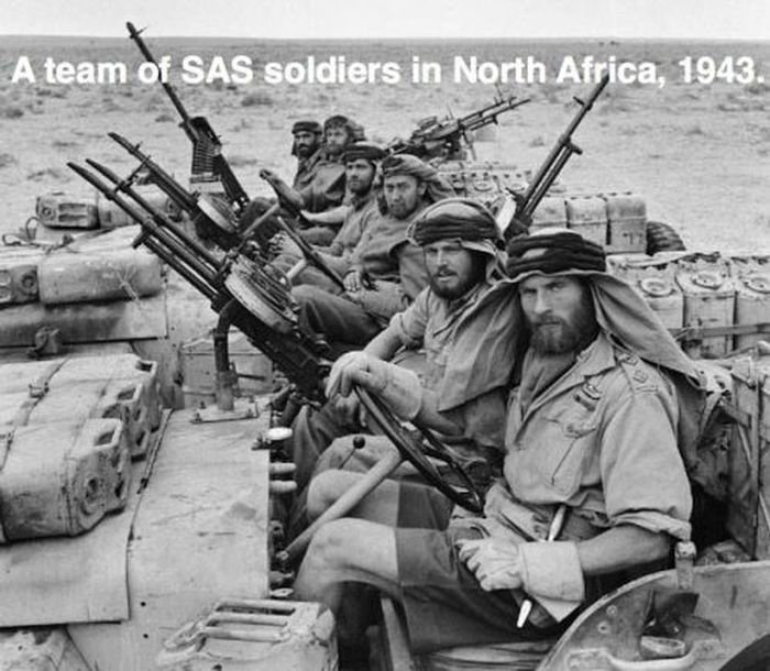 SAS Soldiers