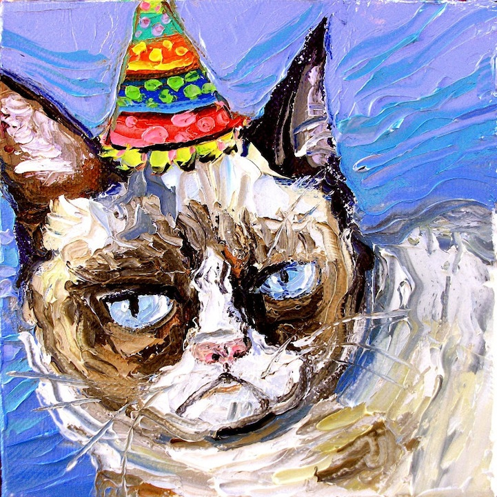 Grumpy Cat Paintings