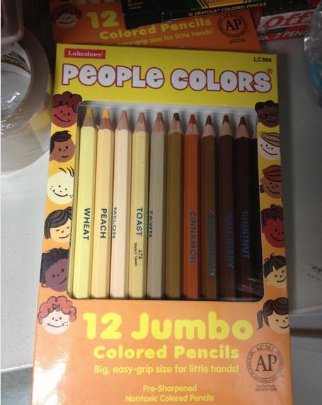 People-Colored Pencils