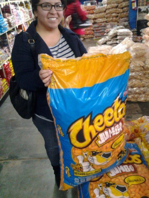 This Enormous-Sized Bag of Cheetos