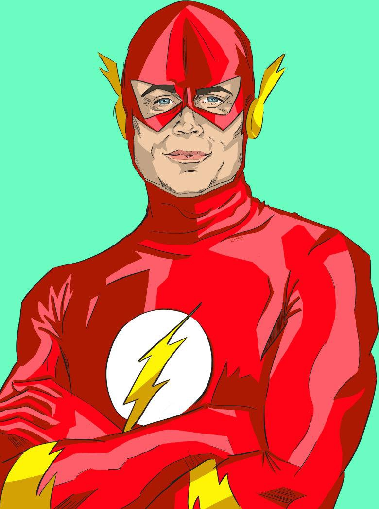 Chris Traeger as The Flash