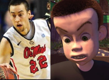 Marshall Henderson—Sid from Toy Story