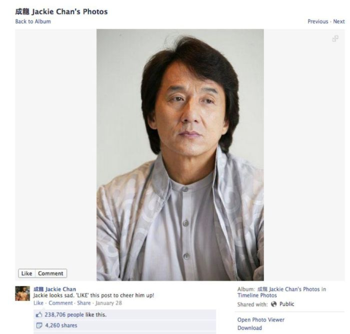 Cheer Up Jackie Chan!