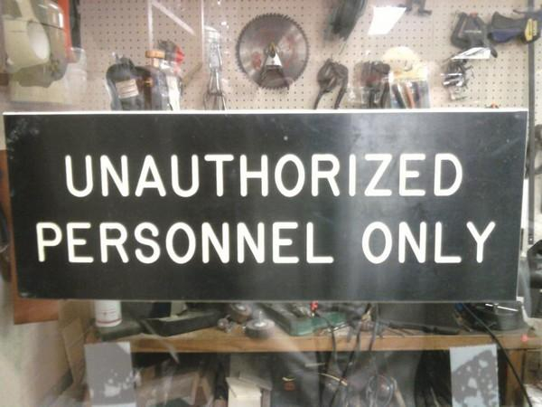 Unauthorized Only