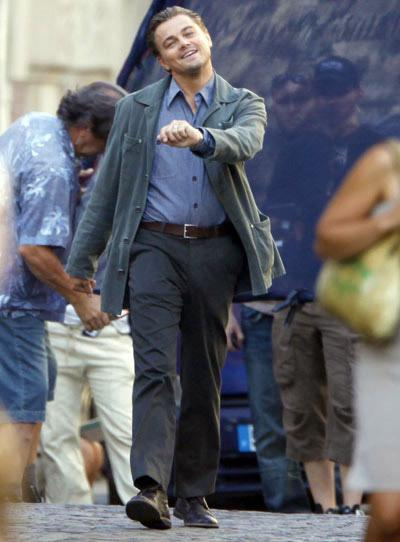Leonardo DiCaprio Strutting Everywhere
