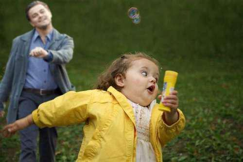 Leonardo DiCaprio Strutting Behind Honey Boo Boo