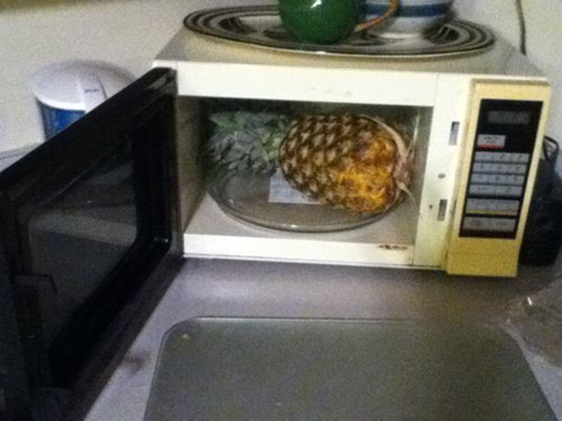 Microwave Pineapple