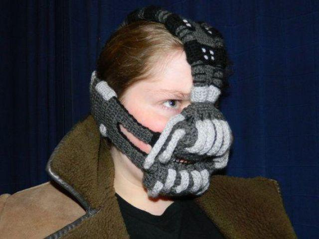 This Knitted Bane Mask