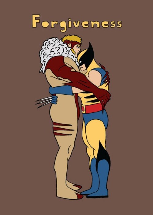Wolverine and Sabertooth