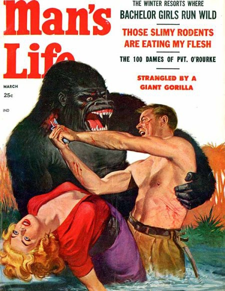 Strangled By A Giant Gorilla