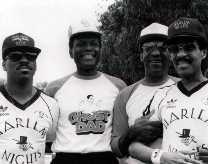 Eddy Murphy, Sidney Poitier, Bill Cosby & Richard Pryor